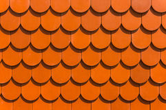 A house red roof tiles Royalty Free Stock Photography