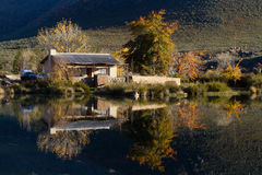 House reflection Royalty Free Stock Photography
