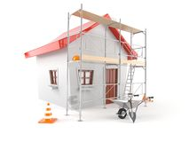 House renovation concept Royalty Free Stock Images