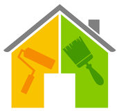 The house renovation Stock Image