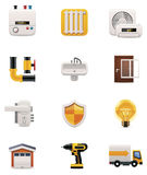 House renovation icon set. Part 2 Stock Photos