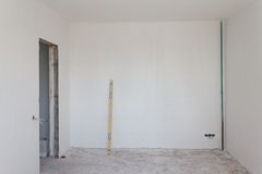 House renovation process Royalty Free Stock Photos