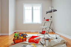 House renovation Stock Images