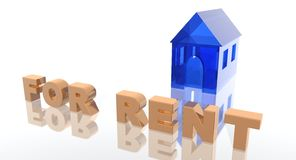 House for rent Royalty Free Stock Photo