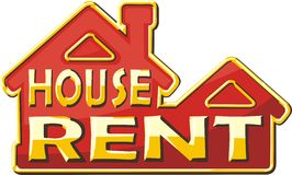 House rent Fotos de Stock Royalty Free