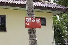 House for rent... Royalty Free Stock Image