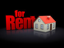 House for rent Royalty Free Stock Images