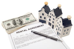 Residential property management royalty free stock photo