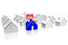 House rental concept Stock Images