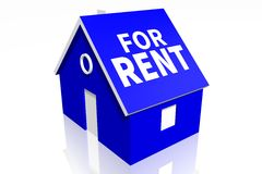 House rental concept Stock Photo