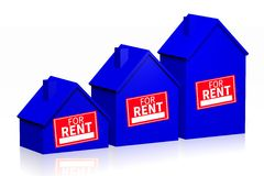 House rental concept Royalty Free Stock Photo