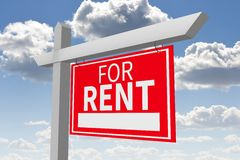 House rental concept Royalty Free Stock Image