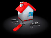 House repair Stock Photography