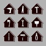 House_repair2 Arkivfoton