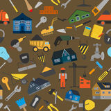 House repair and construction background Stock Photography