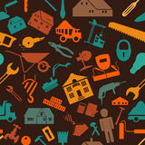 House repair and construction background Royalty Free Stock Photos