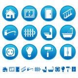 House Repair Icons Royalty Free Stock Images