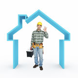 House repair Stock Image