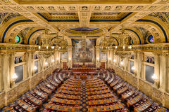 House of Representatives chamber Stock Image