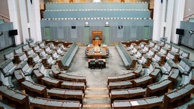 The House of Representatives Chamber Stock Photos