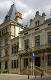 House of representatives in Luxembourg. House of representatives next to the Grand Ducal Palace, Luxembourg Royalty Free Stock Photography