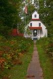 The House at Ridges Sanctuary. Historic house at Ridges Sanctuary, Door County, Wisconsin Stock Photo