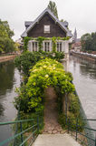 House on the river Royalty Free Stock Image
