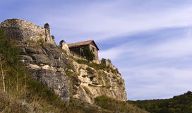 House on a rock Stock Image