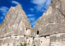 House in the rock in Cappadocia Stock Photos