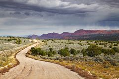 House Rock Valley road royalty free stock image