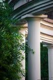 House with Roman columns Stock Photo
