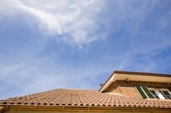 House roof Royalty Free Stock Image