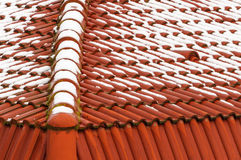 House roof ceramic tiles Stock Image