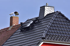 House roof Royalty Free Stock Photo