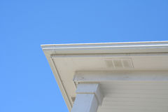 House roof edge Royalty Free Stock Photography