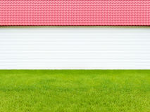 House roof grass background Stock Photography