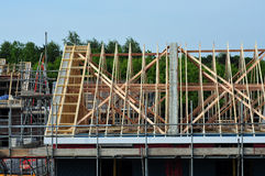 House Roof structure Royalty Free Stock Images