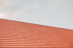 House roof tiles Stock Photo