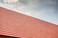 House roof tiles Royalty Free Stock Images