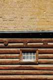 House roof and wall Stock Photo