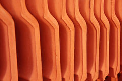 House roofing material close up Stock Photography