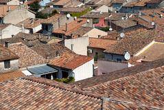 House roofs Stock Images