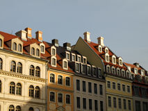 House roofs in Dresden Stock Image