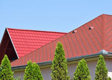 House roofs Royalty Free Stock Image
