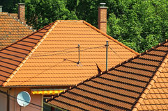 House roofs Stock Photo