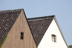 House Roofs Royalty Free Stock Photography