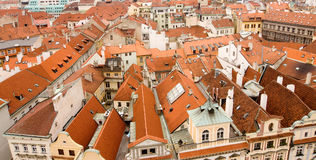 House rooftops Royalty Free Stock Image