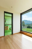 House, room with bathroom Stock Photos