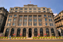 The House of Roosevelt, in Shanghai Bund Stock Photography