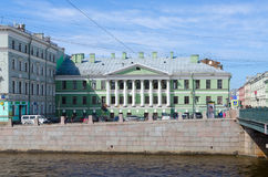 House with rotunda on Gorokhovaya street Yakovlev-Evmentyev`s house, Saint Petersburg, Russia Royalty Free Stock Photos